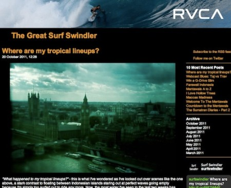 Surf Swindler screenshot